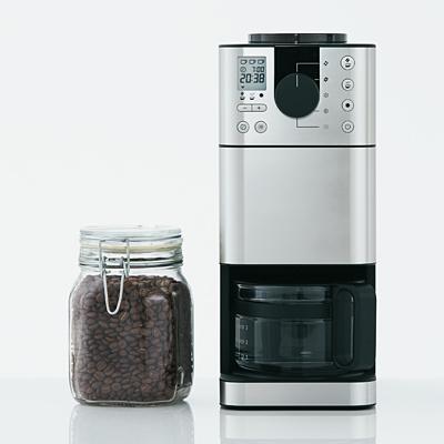 無印良品 豆から挽けるコーヒーメーカーMJ‐CM1(出典:無印良品公式サイトより)