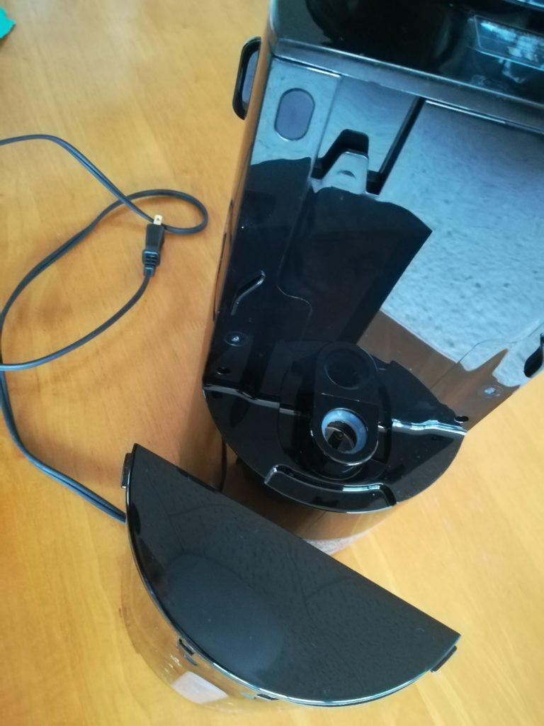siroca コーヒーメーカー SC-C122 給水タンクを取り外す