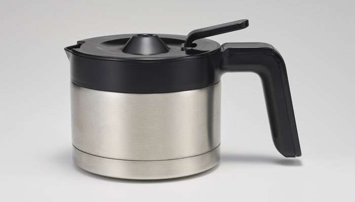 siroca コーン式全自動コーヒーメーカー SC-C122のステンレスサーバー(出典:siroca公式サイトより)