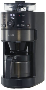 siroca コーン式全自動コーヒーメーカー SC-Cシリーズ(出典:sicoca公式サイトより)