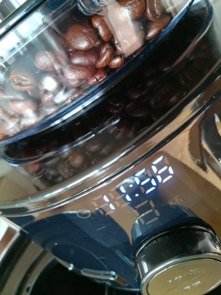 コーヒー豆が見える!