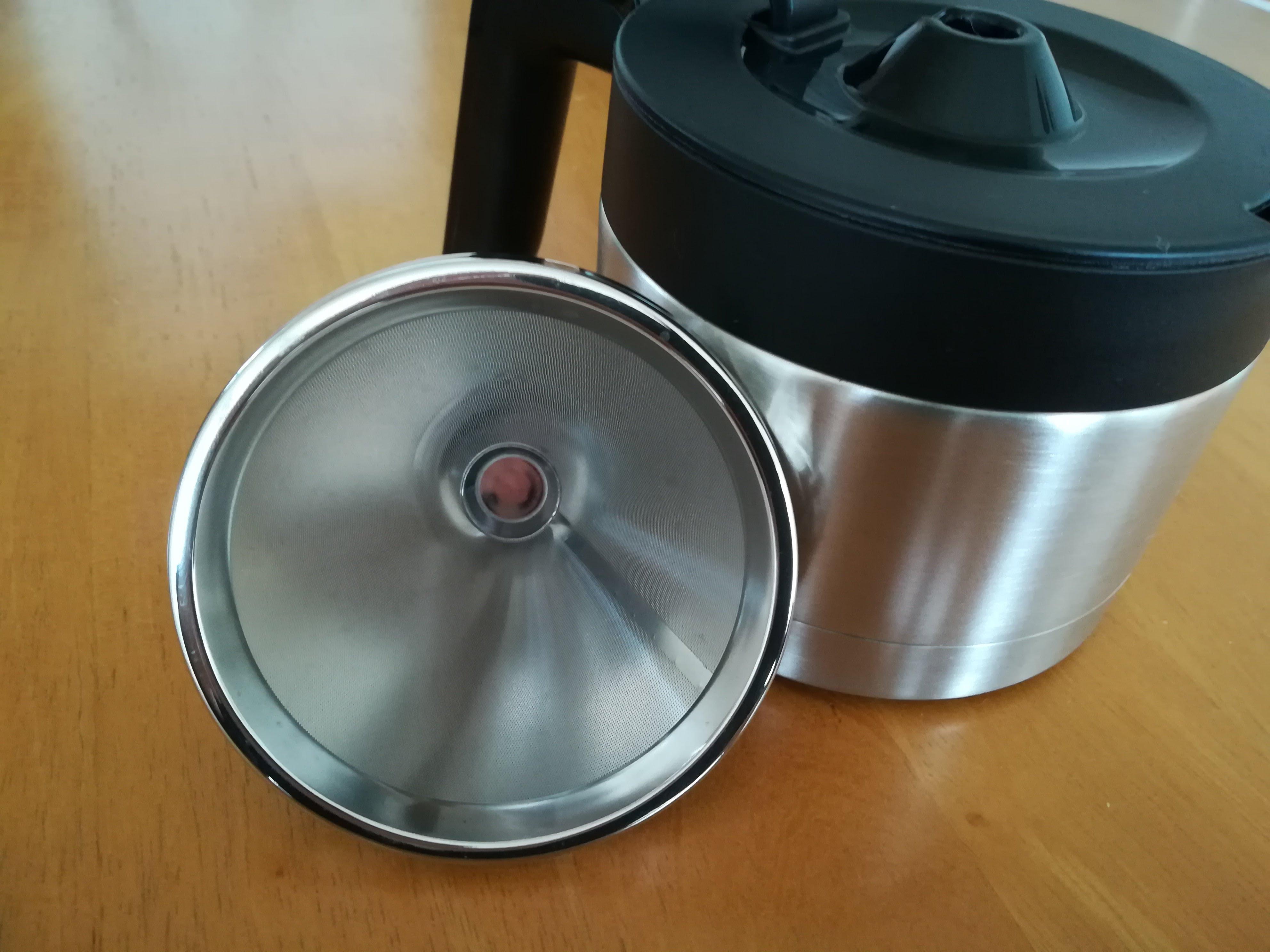 siroca コーヒーメーカー SC-C122のステンレスフィルター