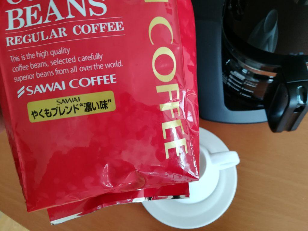 澤井コーヒーやくもブレンド濃い味