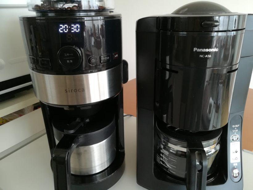 siroca SC-C122とパナソニックNC-A56K