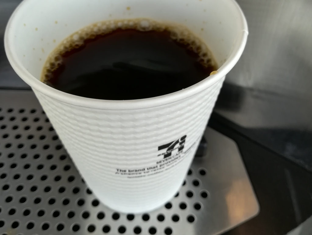セブンカフェのコーヒー