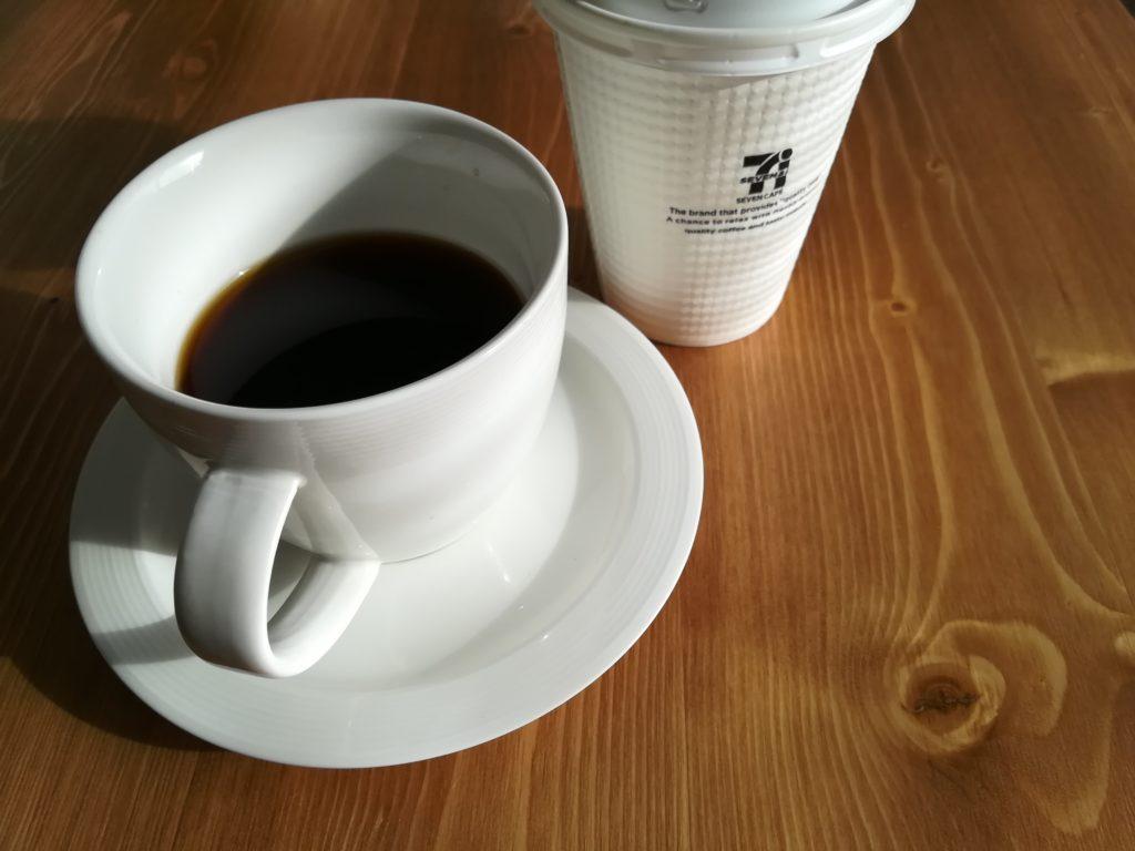 セブンカフェとsiroca SC-C122で作ったコーヒーを飲み比べてみる