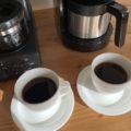 全自動コーヒーメーカー ツインバードCM-D457とシロカSC-C122の味を比較