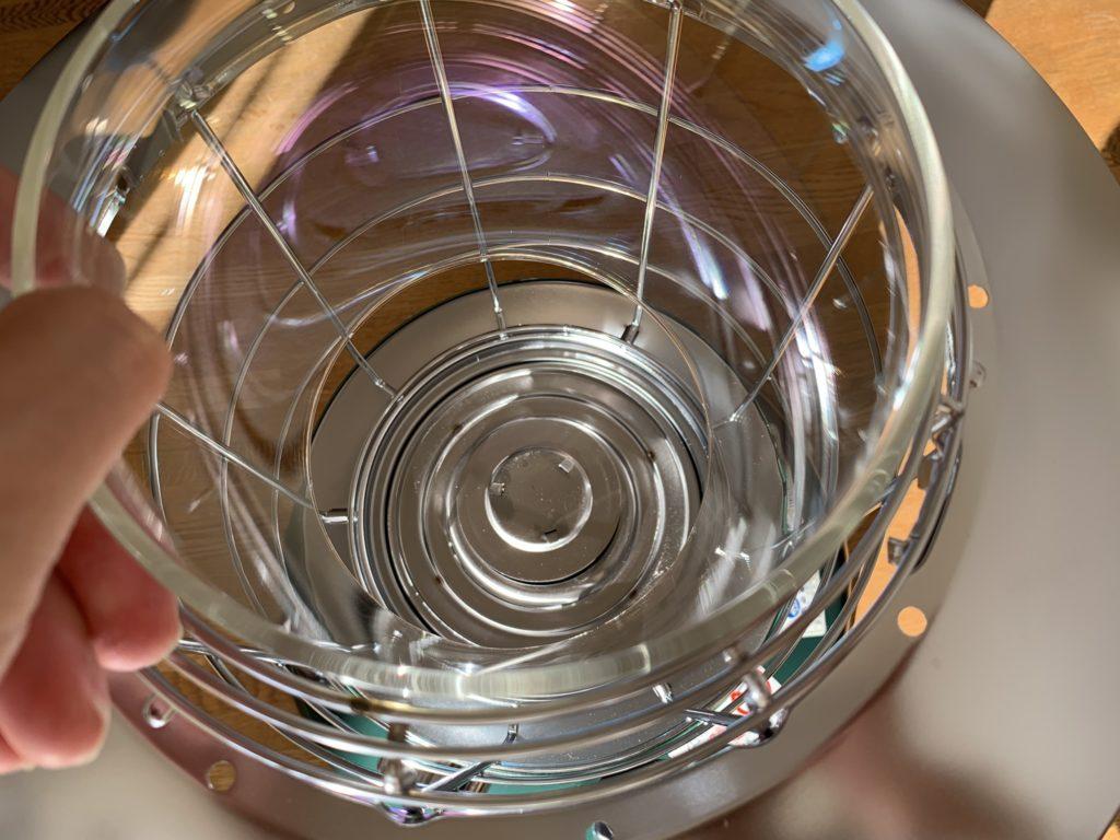 ガラスはキレイ
