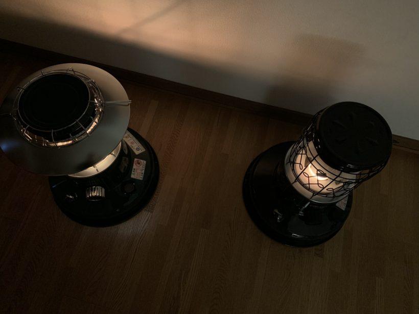 トヨトミランタン調対流型石油ストーブCL-250とRL-250
