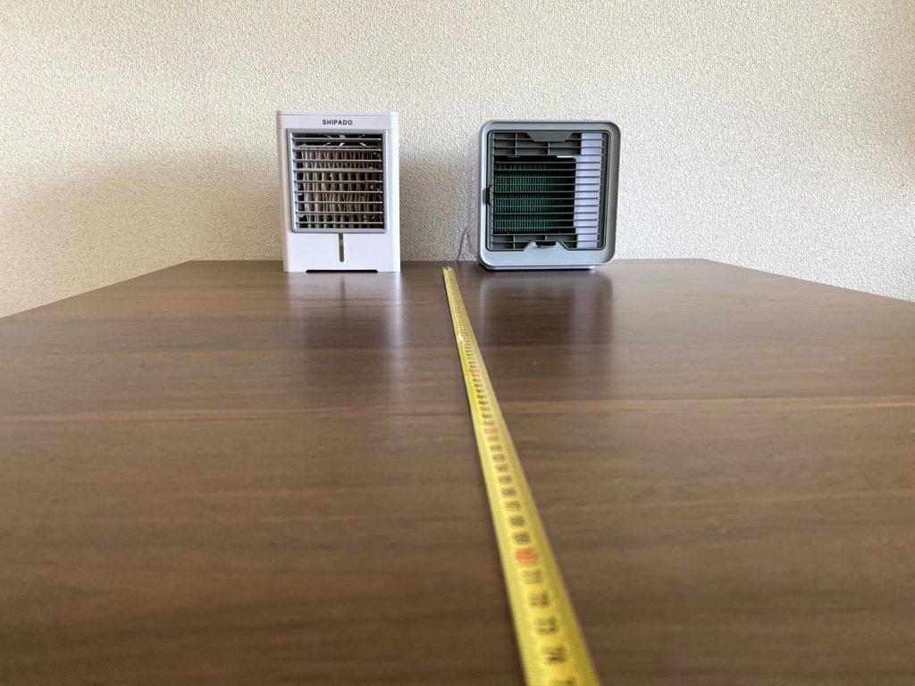 SHIPADOとここひえR2の冷風機比較