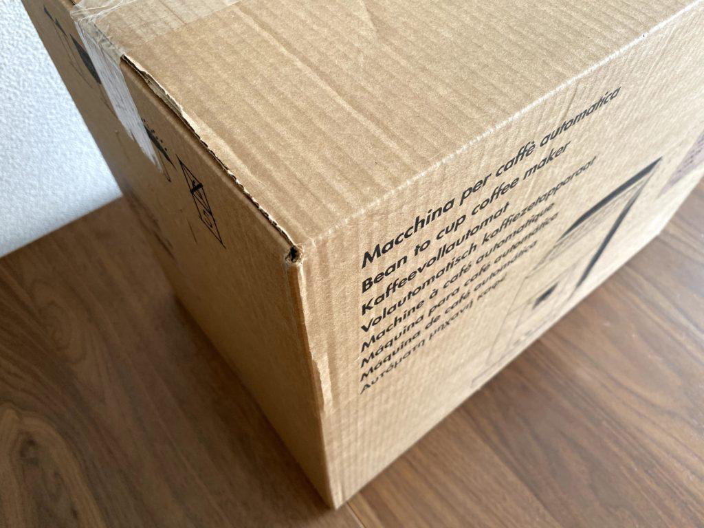 デロンギ マグニフィカS のダンボール箱