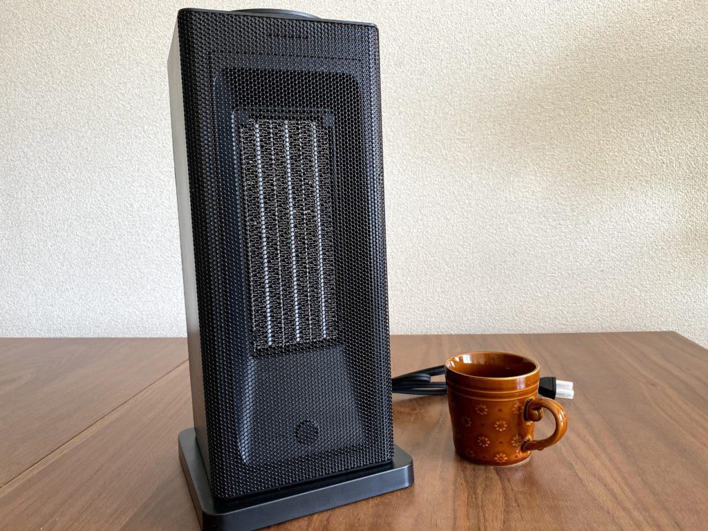 ミニタワー型セラミックヒーター