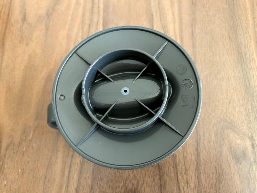 OXOオートドリップコーヒーメーカー ドリッパーの裏側