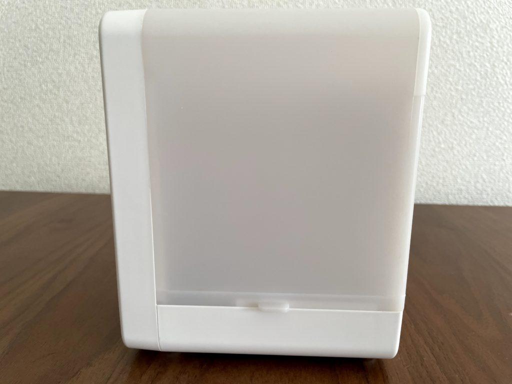 無印良品USB冷風扇MJ-WCF1を右横から見た