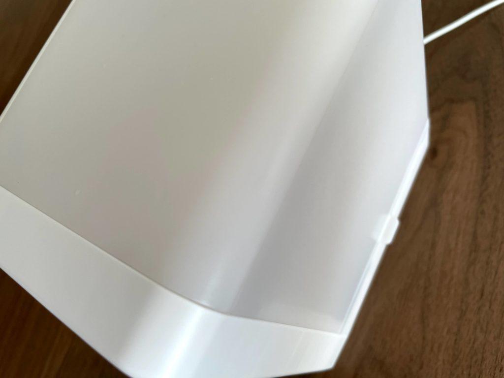 無印良品USB冷風扇MJ-WCF1水タンクの水位がわからない