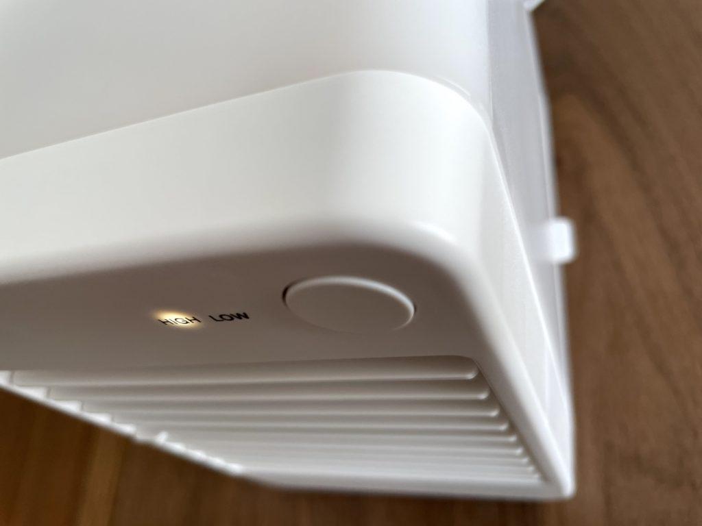 無印良品USB冷風扇MJ-WCF1のデザインはなかなかのもの